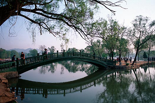 Park des Sommerpalastes in Chengde, China